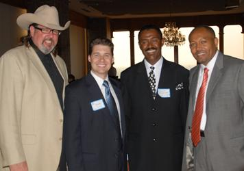 Michael W. Helvey, Shane Jett and Tanzania Representatives